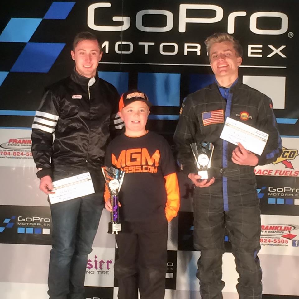 Briggs LO206 kart racing