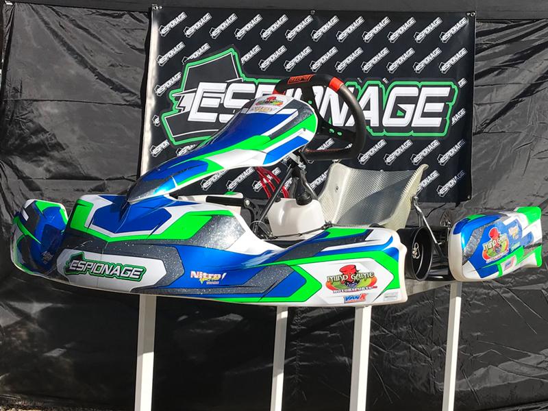 lo206 kart racing chassis