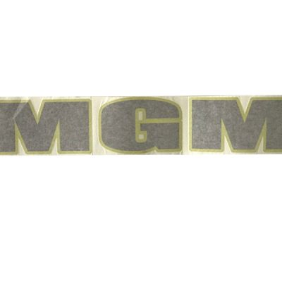 MGM Front Decal